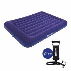 ขาย G Sports Air Bed ที่นอนเป่าลม ขนาด 4 5 ฟุต รุ่น Gcb 1379 แถมฟรี เครื่องปั๊มลมแบบมือ G Sport