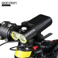 ซื้อ Gaciron V9D 1600 Usb ชาร์จไฟท้ายจักรยานไฟหน้าจักรยานไฟฉายรีโมทคอนโทรล ถูก