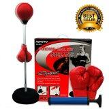 ส่วนลด Gadgetz อุปกรณ์ชกมวย เป้าชกมวย *d*lt Ball Speed 120 150 Cm สีแดง