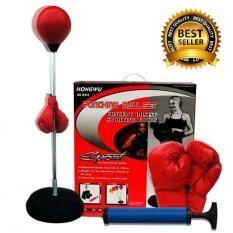 ขาย Gadgetz อุปกรณ์ชกมวย เป้าชกมวย *d*lt Ball Speed 120 150 Cm สีแดง ออนไลน์ กรุงเทพมหานคร