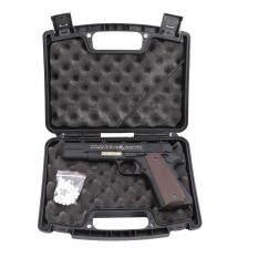 ส่วนลด ปืนอัดแก๊ส G D M1911A1 สีดำ โลหะทั้งกระบอก