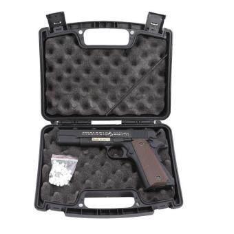 ปืนอัดแก๊ส GD M1911A1 สีดำ โลหะทั้งกระบอก