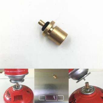 Gas Refill Adapter for Outdoor Camping Stove Gas Cylinder Gas Tank Gas Burner Accessories Hiking Inflate