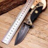 ส่วนลด สินค้า Genuine Scorpion มีดพับ มีดพก พร้อมระบบดีดใบมีด รุ่น Gerber พร้อมซองใส่