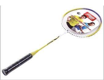 Girlhood Super light badminton racket 2 Pack double racket sports goods - intl