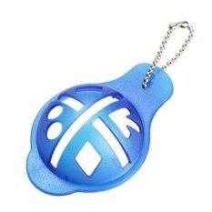 ลูกกอล์ฟ Linear ที่ขีดเส้นแม่แบบ Swing Drawing เครื่องมือจัดตำแหน่งสีฟ้า.