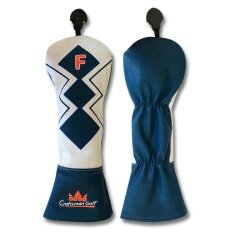 ขาย Golf Head Cover Cm Blue Geometry Fairway ใหม่