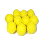 ราคา Golf Soft Foam Balls Set Of 10 Yellow ใหม่