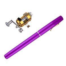 ขาย ดีคันเบ็ดตกปลาอลูมิเนียมรูปทรงปากกาขนาดเล็กพกพาพร้อมรอก เป็นต้นฉบับ