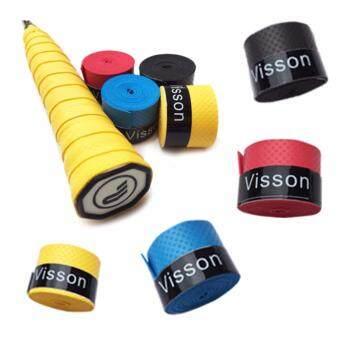 พันด้ามไม้แบด Gripพันด้ามไม้แบดมินตัน Visson 10 ชิ้น