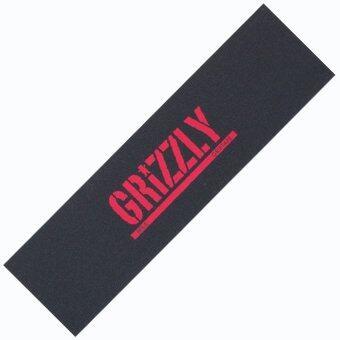 Grizzly กริ๊ปเทป : กระดาษทรายสำหรับติดบนแผ่นสเก็ตบอร์ด