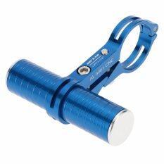 ราคา Gub 328 Handle Barอุปกรณ์สำหรับวางไฟ ไมล์หน้ารถจักรยาน สีน้ำเงิน Gub เป็นต้นฉบับ