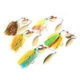 ขาย Hand Tied Custom Spinner Bait Fishing Lure With Willow Blades Fishing Tackle Intl ถูก ใน จีน