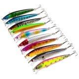 ซื้อ Hard เหยื่อตกปลา 10 ชิ้น 6 ตะขอ Topwater Lures Crankbaits N สำหรับน้ำจืด Fishing Tackle Lure ชุดชุด