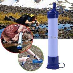 ซื้อ Hayashi หลอดกรองน้ำ เครื่องกรองน้ำแบบพกพา หลอดกรองน้ำสำหรับเดินป่า
