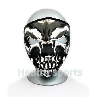 HEALTH - MASK หน้ากากเต็มใบหน้า ป้องกันฝุ่น แสงแดด UV สำหรับทำกิจกรรมกลางแจ้ง ฟรีไซต์ ลายแฟนซี