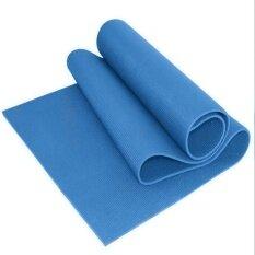 ซื้อ High Grade Extra Non Slip 10Mm Nbr Yoga Mat With Free Carry Strap Intl ถูก