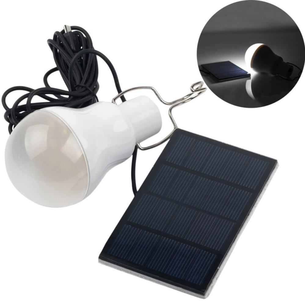 High Quality Portable Solar Power LED Bulb Lamp Outdoor Lighting Camp Tent Fishing Light AP