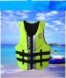 Hisea Professional Neoprene Life Jacket Life Vest Fishing Life Vest Pfd Inflatable Life Jacket For Adults Swimwear Swimming Jackets Intl ใหม่ล่าสุด