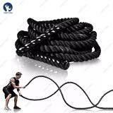 ซื้อ Homefittools เชือกออกกำลังกาย เชือกสะบัด Battle Rope ความยาวเชือก 9 เมตร ถูก ใน กรุงเทพมหานคร