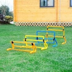Hot Football Training Sports Mini Hurdle Jump Running Sensitive Soccer Agility Intl เป็นต้นฉบับ