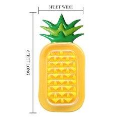 ขาย Hot Giant Inflatable Pineapple Float Sun Lounger Lilo Swimming Pool Beach Air Bed Intl ถูก จีน