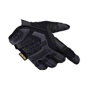 Hot ถุงมือมอเตอร์ไซค์ชายยุทธวิธีกลางแจ้งถุงมือกีฬาสีดำ - INTL