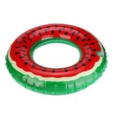 ราคา Hot Swimming Pool Inflatable Watermelon Swim Ring *D*Lt Fruit Swimring Intl ใน จีน