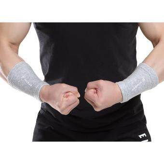 HUOBAN T7964 Wrist Support Bamboo Charcoal Material Protective Gear Sprained Wrist Recover Sprain Wristbands Bandage BracesSupports - intl