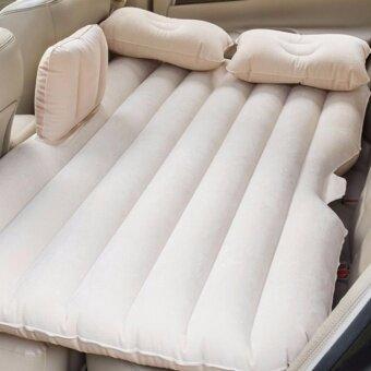 เตียงกันเปื้อน ที่จอดรถตั้งแคมป์ติดตั้งที่นอนเบาะหลังแบบยาวโซฟาพอดี SUV/รถเก๋ง/รถบรรทุก-นานาชาติ