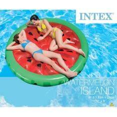 ราคา Intex แพยางเป่าลมลายแตงโม 56283 Intex ออนไลน์