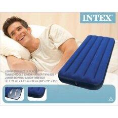 ขาย Intex 68950 ที่นอนเป่าลม 2 5 ฟุต 76X191X22 ซม Intex ถูก