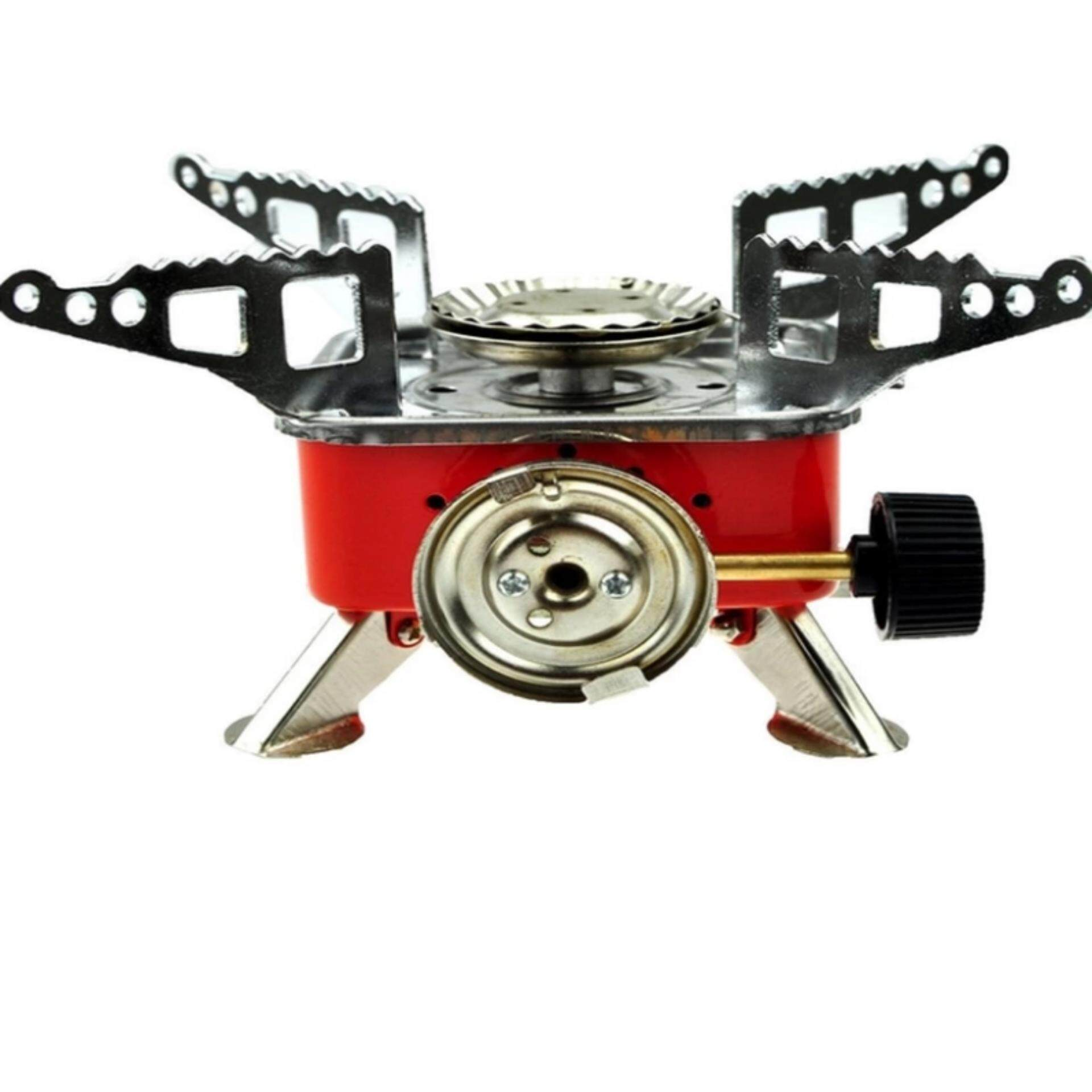 iremax CATEC mini Portable Card Type Stove-red เตาแก๊สพกพา