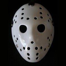 Jason หน้ากากเจสัน คืนโหด ศุกร์ที่13 พันธุ์โหดสุด ๆ(สวมไส่ได้ มีสายรัด)หน้ากาก บีบีกัน Bbgun หน้ากากฮาโลวีน Halloween Mask.
