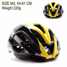 ซื้อ Jetana Bike หมวกจักรยาน หมวกกันน๊อคจักรยาน น้ำหนักเบา เสือหมอบ เสือภูเขา ใช้ได้ทั้งชายและหญิง ขนาด M L สีดำเหลือง ถูก กรุงเทพมหานคร