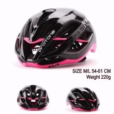 Jetana Bike หมวกจักรยาน หมวกกันน๊อคจักรยาน น้ำหนักเบา เสือหมอบ เสือภูเขา ใช้ได้ทั้งชายและหญิง ขนาด M L สีดำชมพู กรุงเทพมหานคร