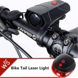 Jj Bike Cycle Horns แตรไฟฟ้า ติดจักรยาน ให้เสียงดังชัดเจน ชนิด Lound And Clear Sound แถมฟรี ไฟเลเซอร์ท้ายรถจักรยาน Bike Light Tail Bicycle Laser รุ่น Dw 681 Red Jj ถูก ใน กรุงเทพมหานคร