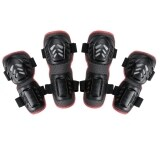 ราคา Jo In 4Pcs Outdoor Sports Knee And Elbow Guards Protective Gear Black เป็นต้นฉบับ