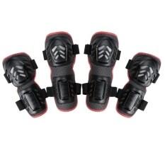 ส่วนลด Jo In 4Pcs Outdoor Sports Knee And Elbow Guards Protective Gear Black Unbranded Generic จีน