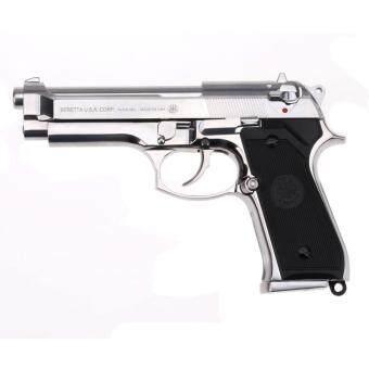 JR Beretta M92FS Silver ปืนทรงดุ เบเร็ตต้า M92 ระบบอัดแก๊สโบวแบล็ค
