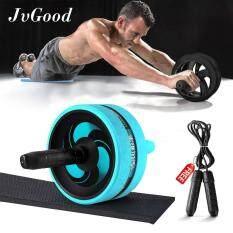 ทบทวน Jvgood Ab Roller Wheels With Knee Pad Ab Carver Pro Roller Core Workouts Exercise Fitness With Jump Rope Knee Pad Wrist Band Jvgood