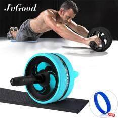 ราคา Jvgood Ab Roller Wheels With Knee Pad Ab Carver Pro Roller Core Workouts Exercise Fitness With Knee Pad Wrist Band ใหม่
