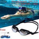ซื้อ Jvgood Myopia Swim Goggles 200 500 Swimming Goggles Professional Swim Goggles Triathlon Goggles Anti Leakage Anti Fog Anti Uv For *D*Lt Men Women Youth Kids Child ออนไลน์