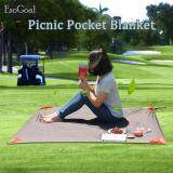 ราคา Jvgood Pocket Blanket With Carry Bag Attached Multipurpose For Beach Picnic Outdoor And Travel Mat