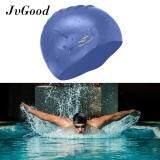 ขาย ซื้อ Jvgood ซิลิโคนผมยาวหมวกว่ายน้ำกันน้ำหมวกว่ายน้ำ Unisex สำหรับผู้ใหญ่เด็กหญิงและชาย ช่วยให้ผมสะอาดแห้ง