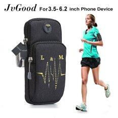 ขาย Jvgood Sports Armband Water Resistant With Multifunctional Pockets Workout Running Armbag Arm Band Outdoor Pouch For 3 5 6 2 Smartphone Cell Phone Intl จีน