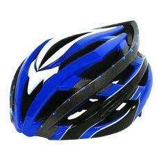 ราคา K Bike หมวกจักรยาน มีไฟ Led รุ่น Lw 878 สีน้ำเงิน ใหม่ ถูก