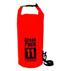 ราคา Karana Oceanpack 11L Red Karana เป็นต้นฉบับ
