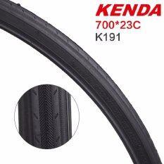ราคา Kenda K 191 ยางรถจักรยาน ขนาด 700X23C ขอบลวด สีดำ ใหม่