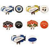 ขาย คลิปเหล็ก สำหรับติดหมวกนักกลอ์ฟ 5ชุด Magnetic Golf Ball Marker 5 Sets ใหม่